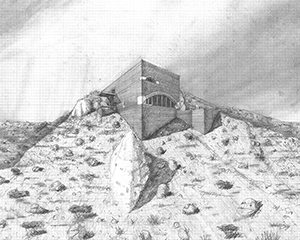 Crater House at Roden Crater