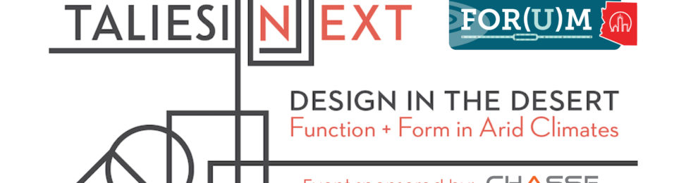 """Eddie to Join Panelists for """"Design in the Desert: Function + Form in Arid Climates"""""""